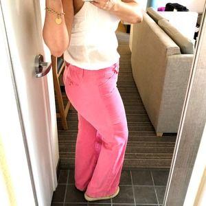 LIlly Pulitzer Corduroy Pink Society Pants Sz 4